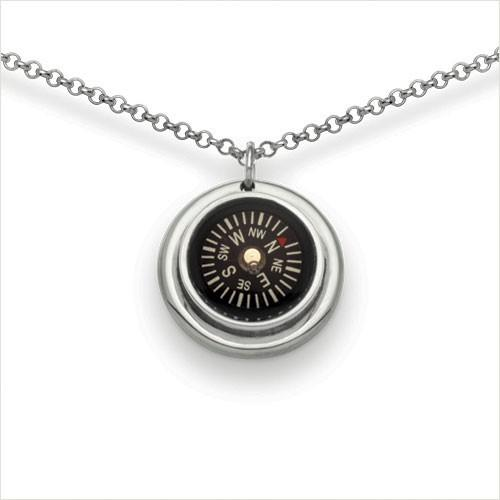 Compass Necklace, Classic
