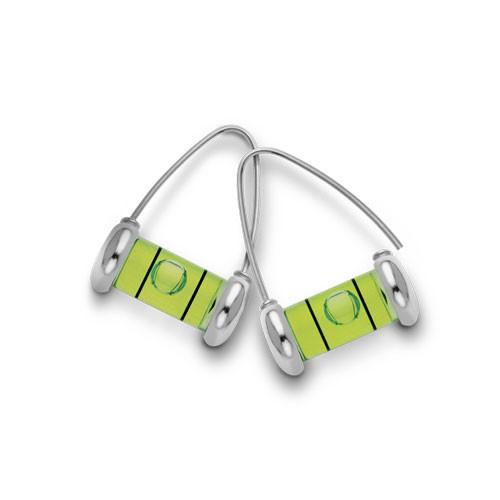 Level Earrings - Wishbone