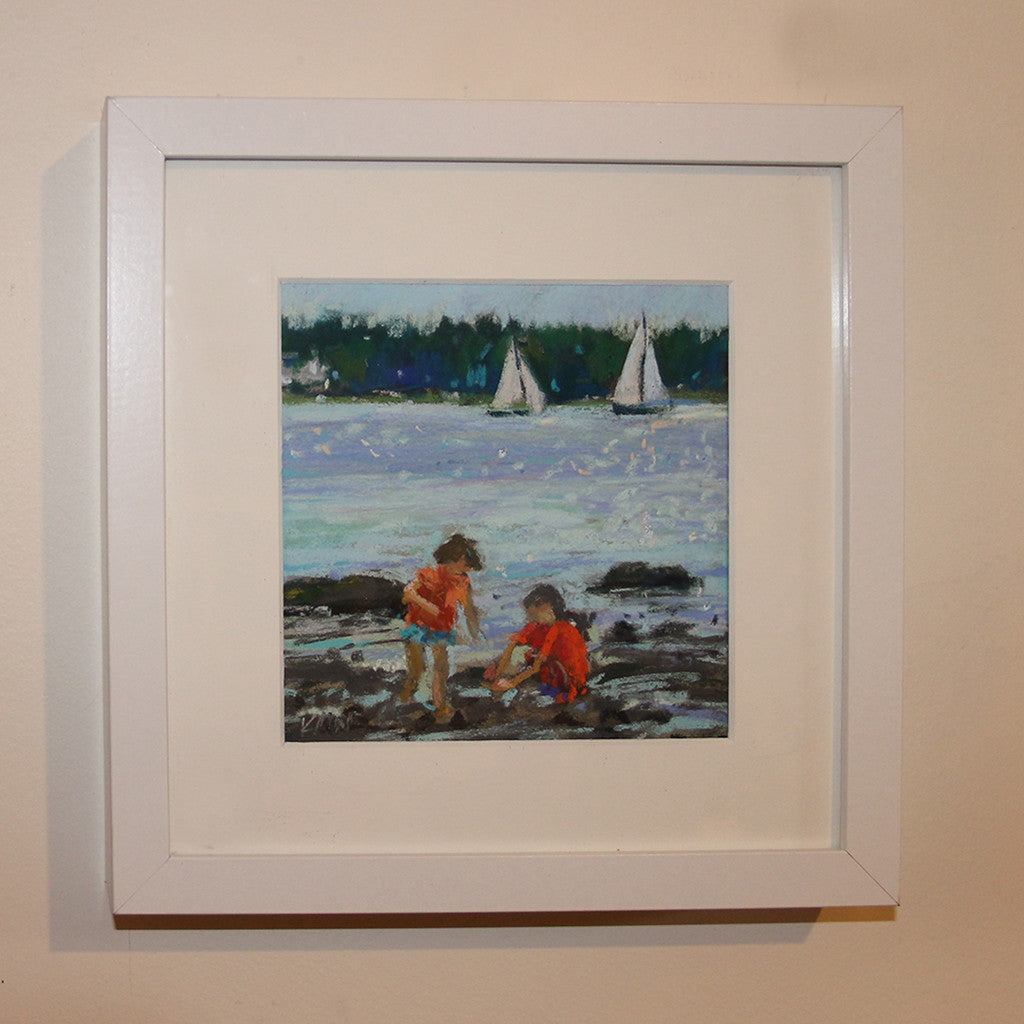 beach day original pastel by kim morin weineck-2