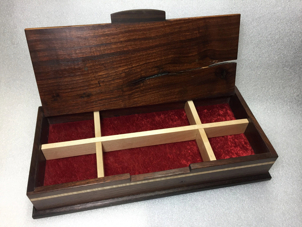 Hinge Top Jewelry Box by Michael Pietragalla