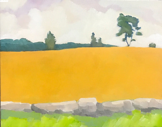 Pine Hill Rd, Original Painting by Butch McCarthy