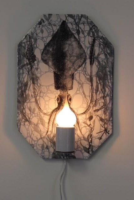 Squid Wall Sconce by Craig Crawford