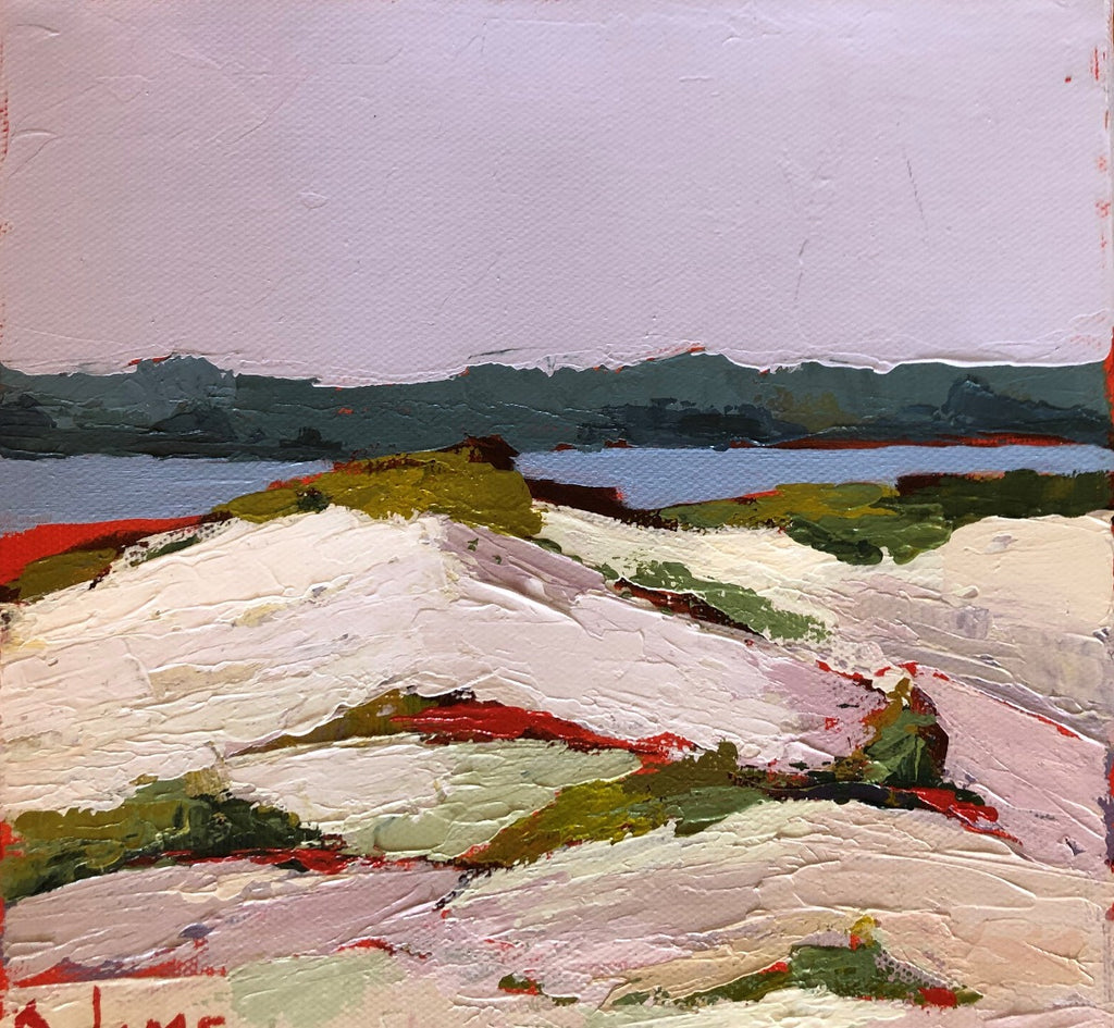 Top Dune, Painting by Phyllis Dobbyn Adams