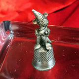 Vintage metal souvenir Thimble Disney, Mickey Mouse. Perfect condition. Collectible.