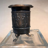 Ancient Greek Decorative Vase, Copper, Vintage