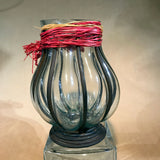 Bola shape Glass Decorative Vase