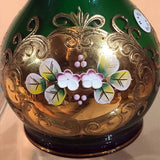 Decorative Hand Blown Glass Art Vase Vintage
