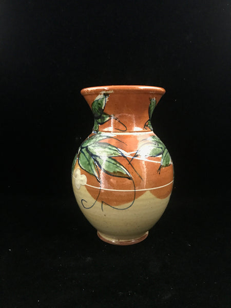 Artisan Handcrafted Signed Art Studio Ceramic Vase