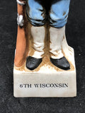 6TH WISCONSIN 2OZ Decanter (RARE)