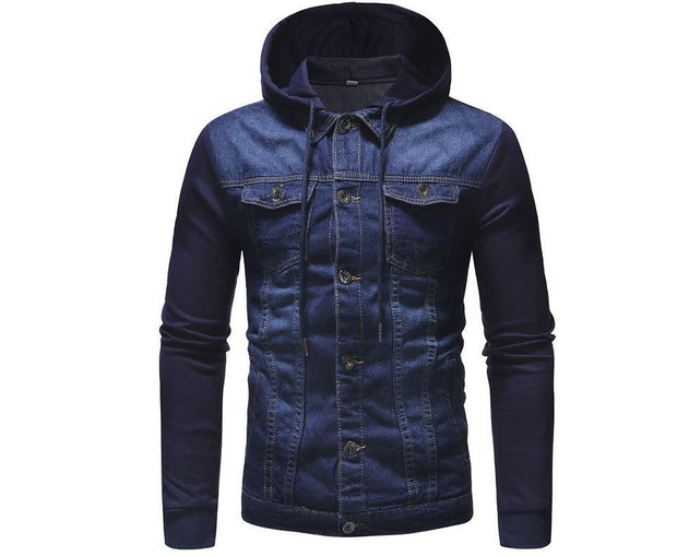 West Louis™ Regular Length Thick Warm Padded Jackets Blue / L - West Louis