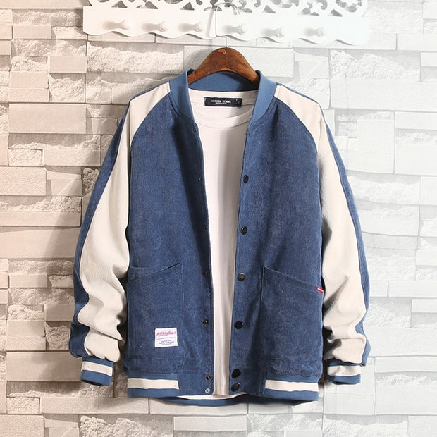 West Louis™ College Patchwork Jacket