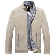 West Louis™ Business-Man Spring Jacket Khaki / XS - West Louis