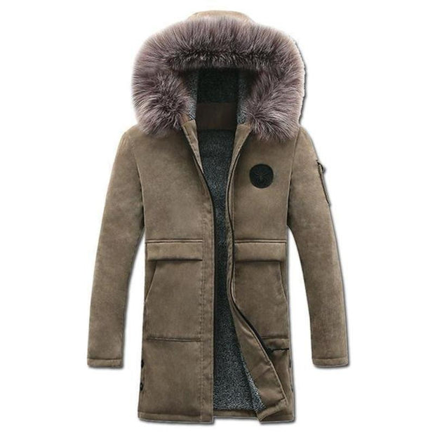 West Louis™ Parkas Fashion Winter Men's Coat