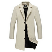 West Louis™ Business-Man Windproof Long Coat