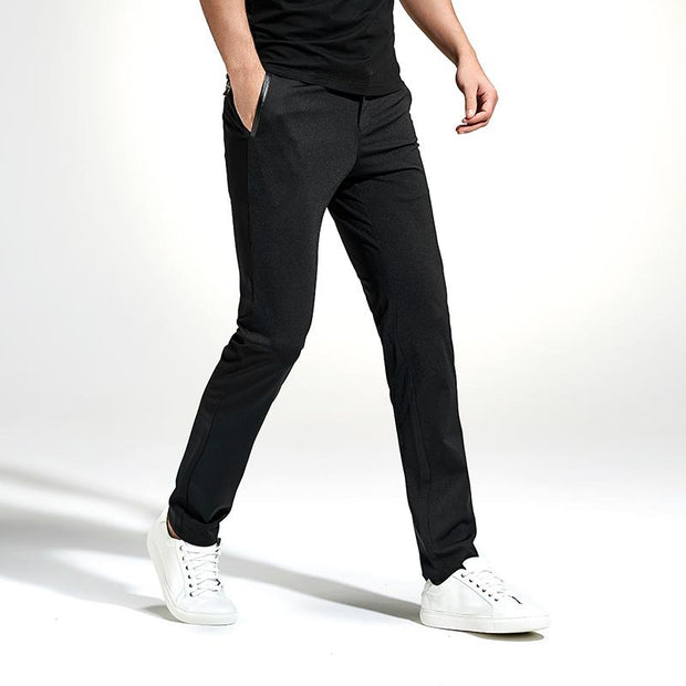 West Louis™ Spring Brand Elastic Sweatpants 29 / Black - West Louis