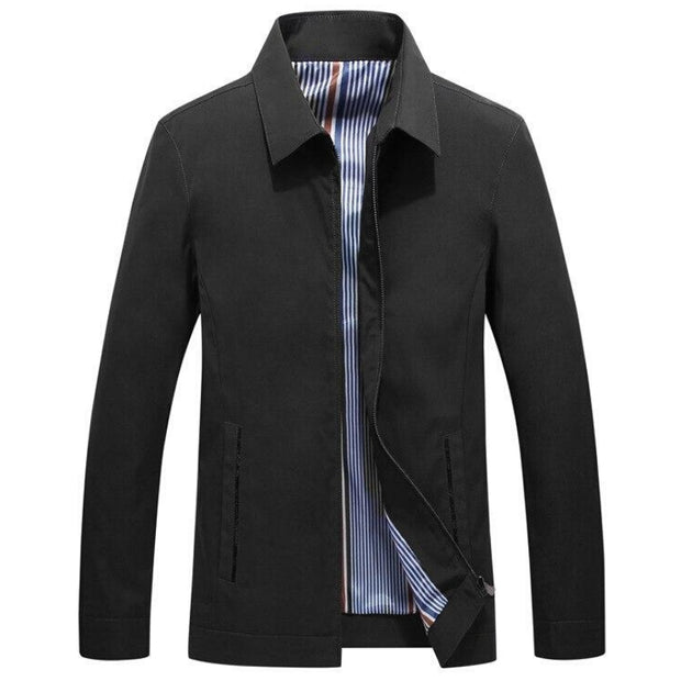 West Louis™ Brand Pattern Spring Business-Man Jacket