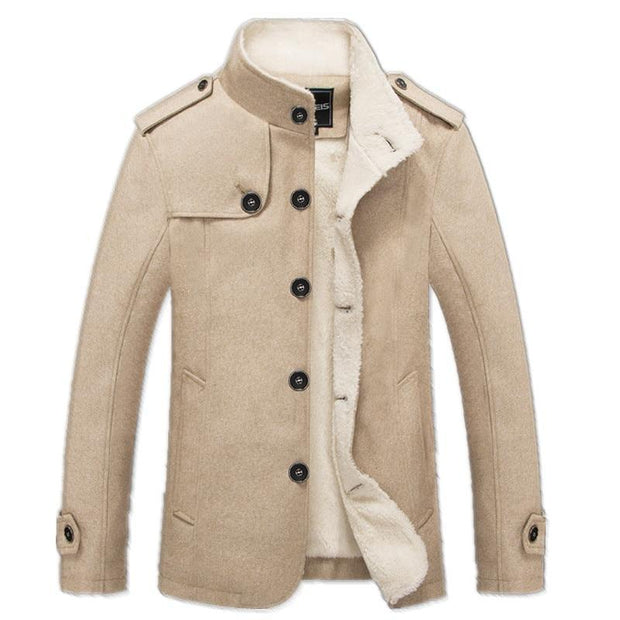 West Louis™ Wool Cotton Coat