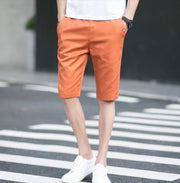 West Louis™ Knee-Length Men's Casual Capris Short