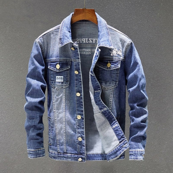 West Louis™ Trending Denim Jacket