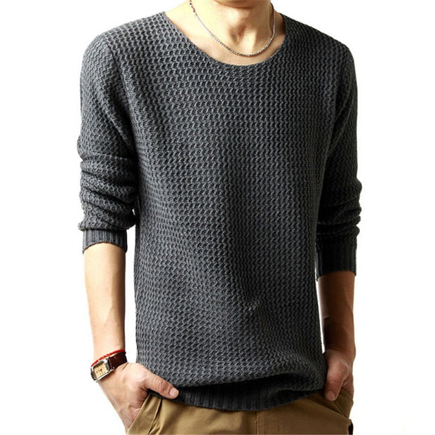 West Louis™ Hedging O-Neck Style Sweater