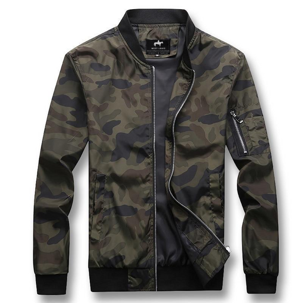 West Louis™ Brand Urban Style Spring Jacket