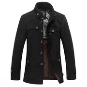 West Louis™ Morality Fashionable Wool Coat