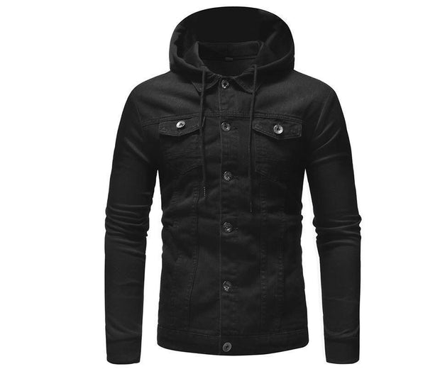 West Louis™ Regular Length Thick Warm Padded Jackets Black / L - West Louis
