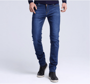 West Louis™ Casual High Elasticity Jeans  - West Louis