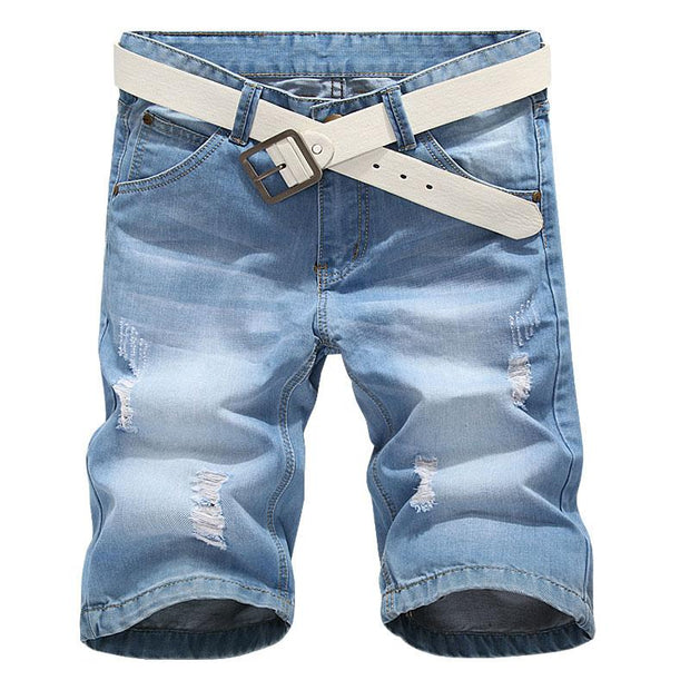 West Louis™ Denim  Summer Jeans Light blue / 28 - West Louis