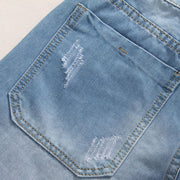 West Louis™ Denim  Summer Jeans  - West Louis