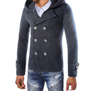 West Louis™ Trench Outwear Solid Coat