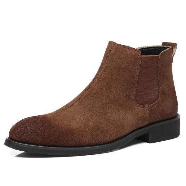 West Louis™ American Chelsea Leather Boots