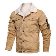 West Louis™ American Big Boss Leather Jacket