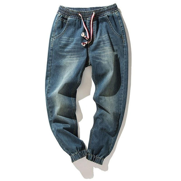 West Louis™ Denim Stretch Harem Jeans