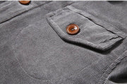 West Louis™ New Trend Fur Lining Corduroy Jacket
