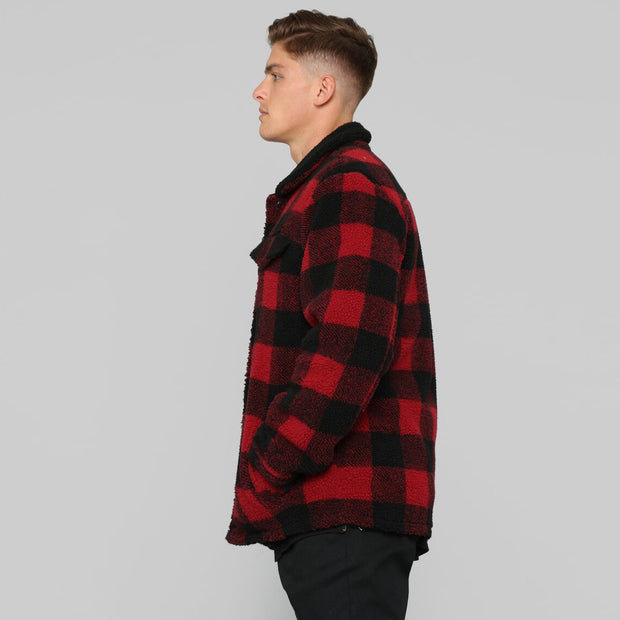 West Louis™ Trending Style Autumn Plaid Cotton Jacket