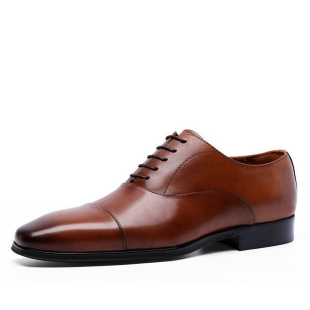 West Louis™ British Business Office Leather Oxford Shoes