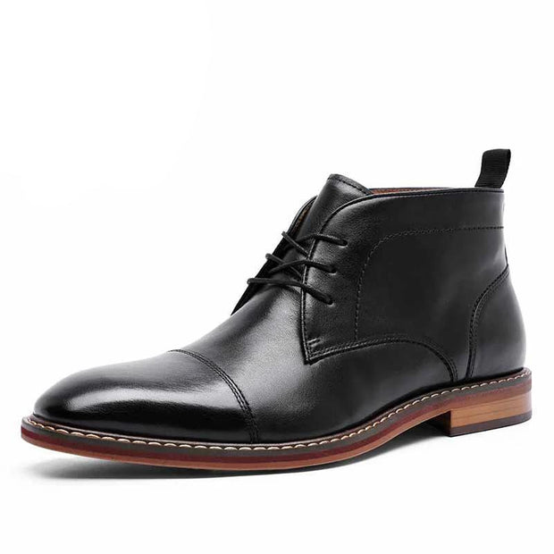 West Louis™ Business Leather Chelsea Boots