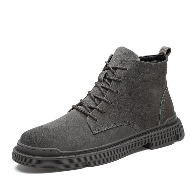 West Louis™ Suede Leather Autumn Ankle Boots