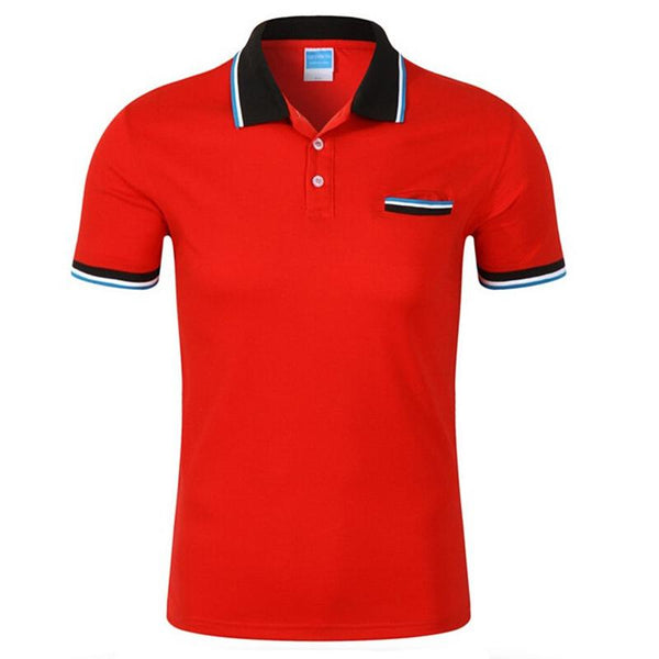 West Louis™ Cotton Casual Breathable Polo Shirt  - West Louis