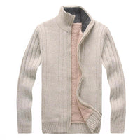 West Louis™ Cashmere Fleece Jumpers Sweater Beige / M - West Louis