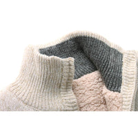 West Louis™ Cashmere Fleece Jumpers Sweater  - West Louis