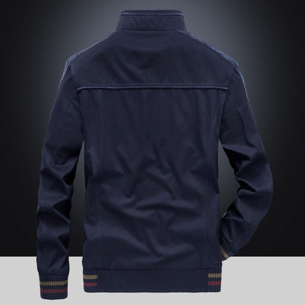 West Louis™ Stand-up Collar Business Youth Jacket