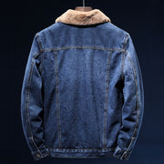 West Louis™ American Cowboy Denim Jacket