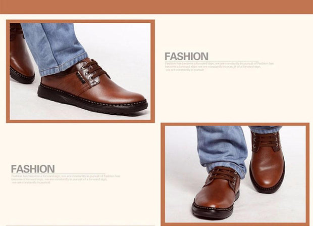 West Louis™ Leather Handmade Fashion Zapatos Shoes  - West Louis