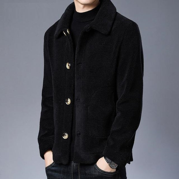 West Louis™ Thick Soft Fleece Warm Outerwear Jacket
