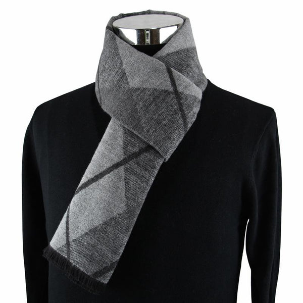 West Louis™  Neckercheif Modal Men Scarve Gray - West Louis