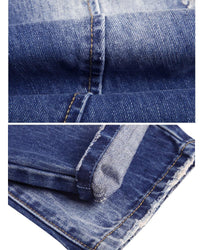 West Louis™ Casual Stretch Slim Jeans  - West Louis