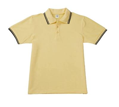 West Louis™ Solid Casual Polo Shirt Yellow / L - West Louis