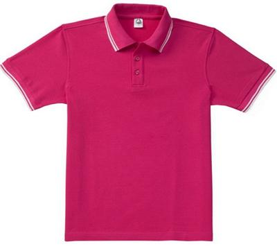 West Louis™ Solid Casual Polo Shirt Hot Pink / L - West Louis